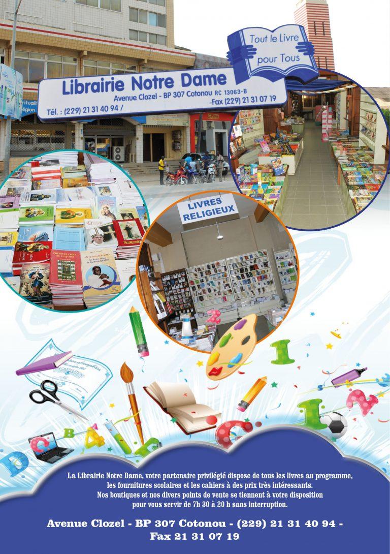 Pub Librairie Notre-Dame