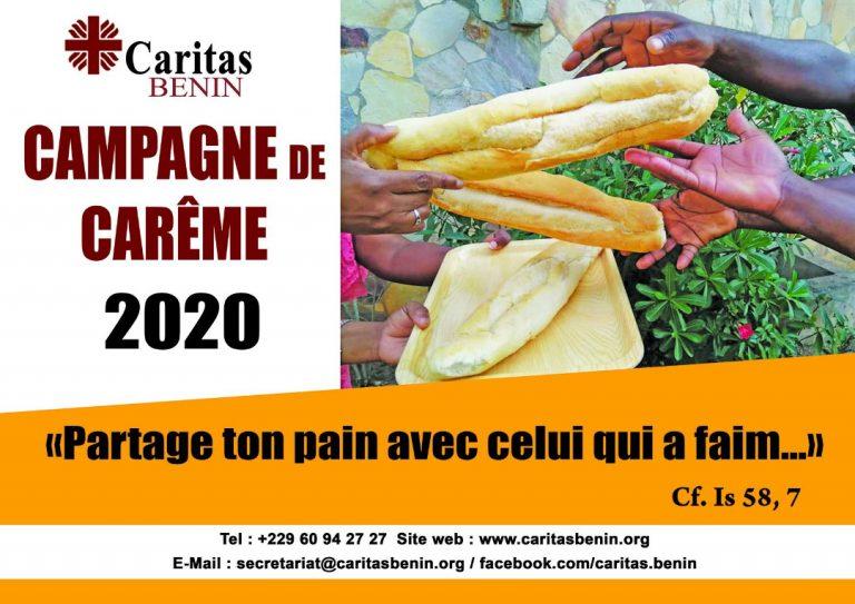 Campagne de carême Caritas 2020