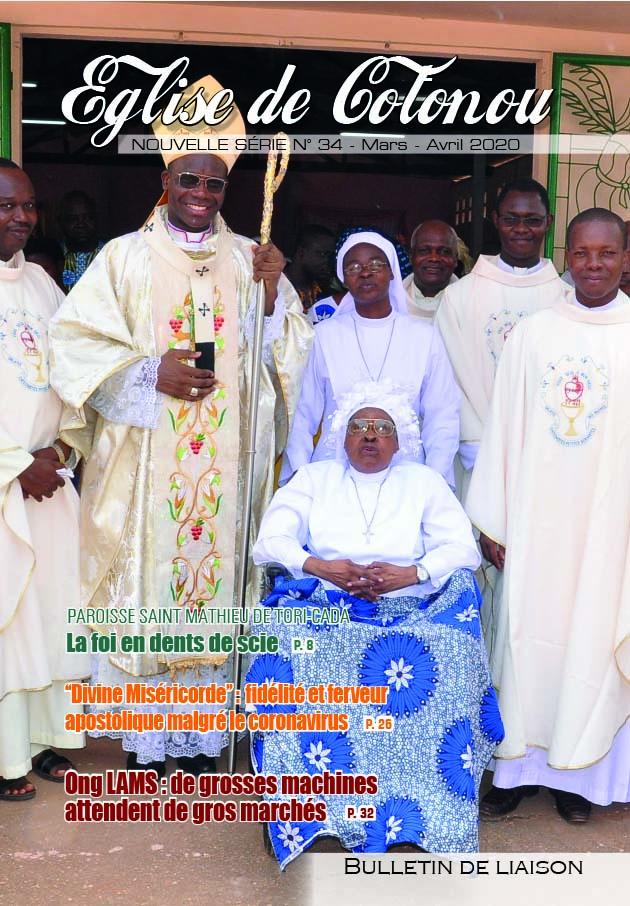 La Une Eglise de Cotonou